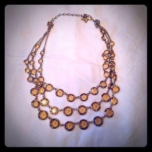 Anne Klein layered necklace